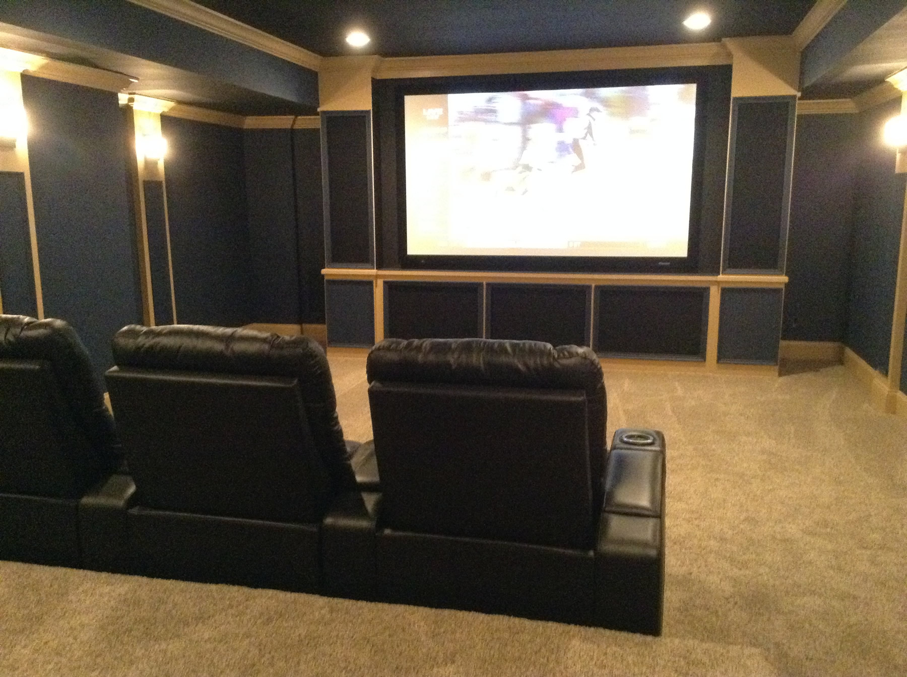 Screening Rooms Southern Pines NC